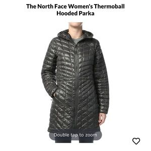 Women's The North Face Thermoball hooded parka